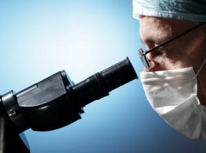 microscope examination
